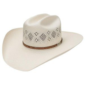 Stetson Riverview 30X Straw Cowboy Hat
